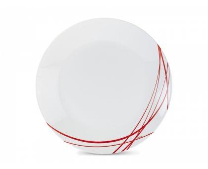 Тарелка обеденная Luminarc Arcopal Domitille Red 3347P