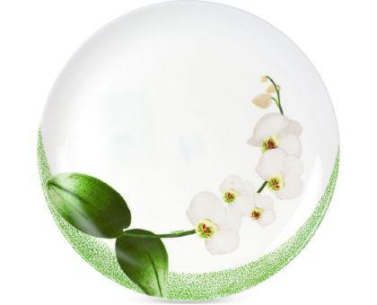 Тарелка обеденная Luminarc White Orchid 6435P