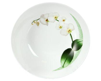 Тарелка суповая Luminarc White Orchid 6437P