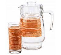 Набор питьевой Luminarc Brus Mania orange 7451P