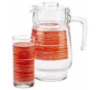 Набор питьевой Luminarc Brus Mania red 7452P