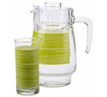 Набор питьевой Luminarc Brus Mania green 7453P в ДНР