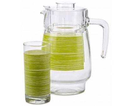 Набор питьевой Luminarc Brus Mania green 7453P