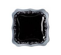 Тарелка обеденная Luminarc Authentic Silver Black 8396H