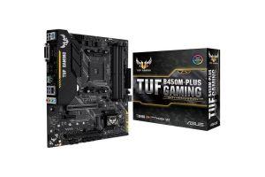 Материнская плата AMD B450 Asus TUF B450M-PLUS GAMING (90MB0YQ0-M0EAY0)