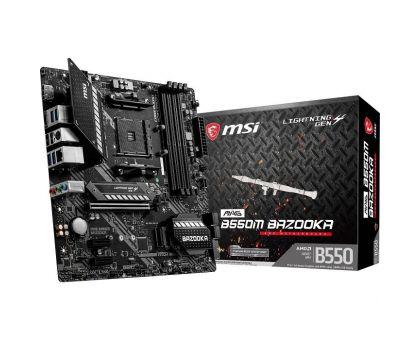 Материнская плата AMD B550 MSI MAG B550M BAZOOKA