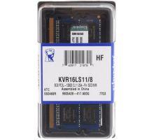 Оперативная память SO-DIMM DDR3 8Гб Kingston (KVR16LS11/8WP) в ДНР