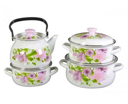 Набор посуды эмалированной КМЗ Весна
