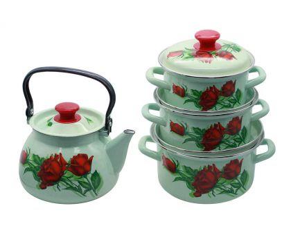 Набор посуды эмалированной КМЗ Андорра