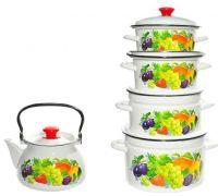 Набор посуды эмалированной КМЗ Джем СА-2