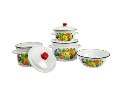 Набор посуды эмалированной КМЗ Джем-1