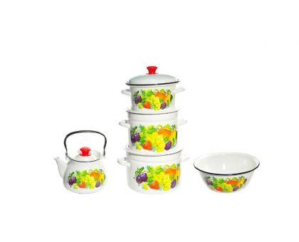 Набор посуды эмалированной КМЗ Джем