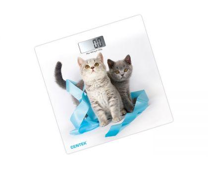 Весы напольные Centek CT-2426 Котята