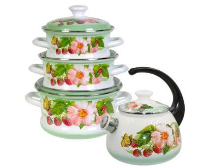 Набор посуды эмалированной КМЗ Солнышко-С