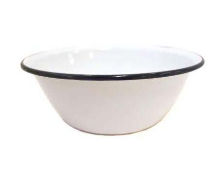 Миска эмалированная КМЗ 40304-102 Белая