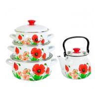 Набор посуды эмалированной КМЗ Настроение
