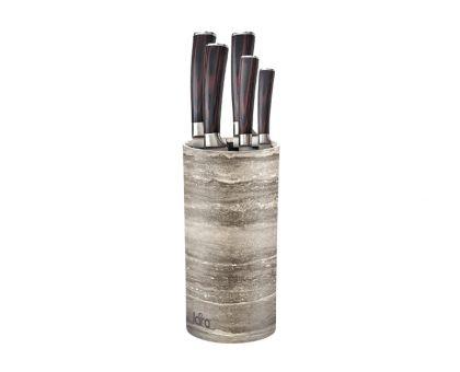 Подставка для ножей Lara 05-103 grey