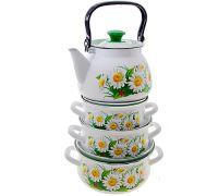 Набор посуды эмалированной КМЗ Марианна