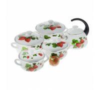 Набор посуды эмалированной КМЗ Летняя ягода