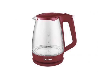 Чайник  OPTIMA EK1718maroon
