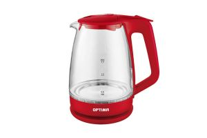 Чайник  OPTIMA EK1718 red