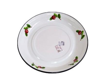 Блюдо эмалированное КМЗ 43004-152/4 Вишневый сад