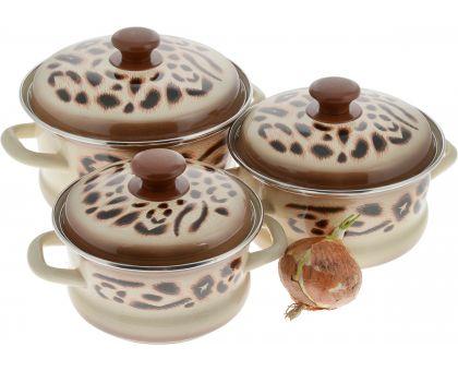Набор посуды эмалированной КМЗ Сафари
