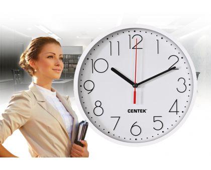 Настенные часы Сentek CT-7105W