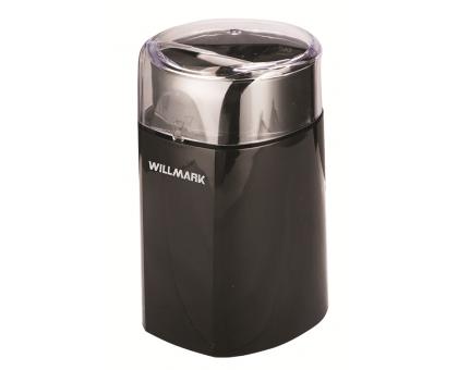 Кофемолка WILLMARK WCG-215BL
