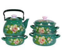 Набор посуды эмалированной КМЗ Натали