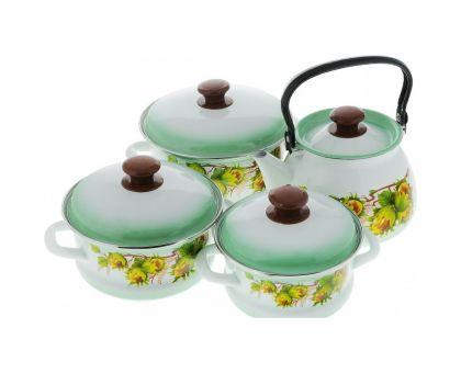 Набор посуды эмалированной КМЗ Орешек
