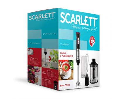 Блендер погружной Scarlett SC-HB42F44