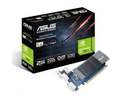 Видеокарта nVidia GT 710 Asus GT710-SL-2GD5 (90YV0AL1-M0NA00)
