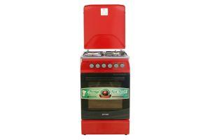 Плита комбинированная OPTIMA CS-5631 Красная